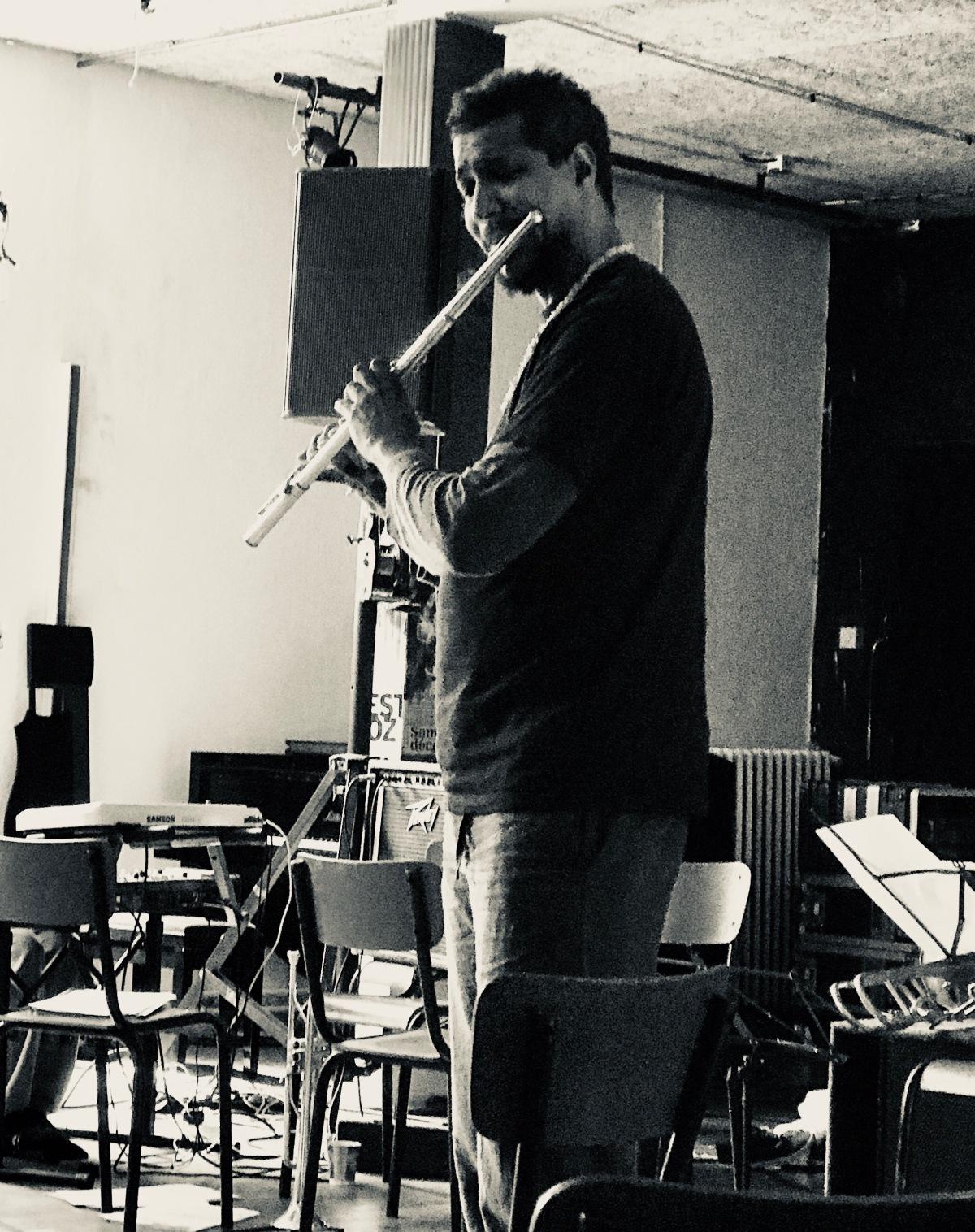Workshop with Magic Malik in France